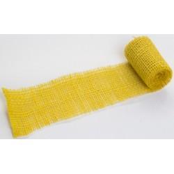 JUTA- 03 Jutová tkanina 6x130cm žltá 211g