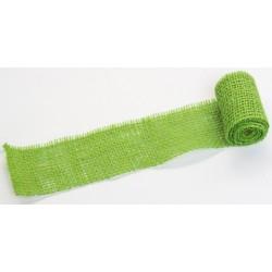 JUTA- 04 Jutová tkanina 6x130cm sv.zelená 211g