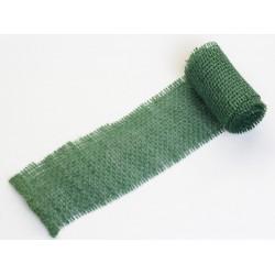 JUTA- 05 Jutová tkanina 6x130cm tm.zelená 211g