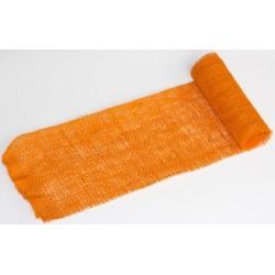JUTA- 16 Jutová tkanina 12x130cm oranžová 211g