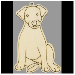 PEN-22767 Drevená figurka pes 5ks