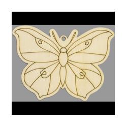 PEN-22765 Drevená figurka motýľ  5ks