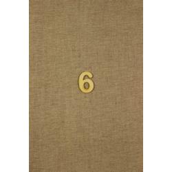 CFB-číslo 6 výrobok z dreva 10ks/32mm