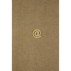 CFB-písmeno @ výrobok z dreva 10ks/32mm