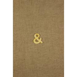 CFB-písmeno & výrobok z dreva 10ks/32mm