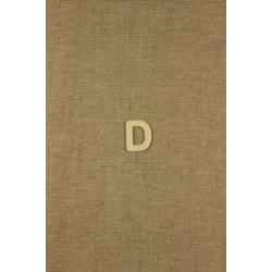 CFB-písmeno D výrobok z dreva 10ks/32mm