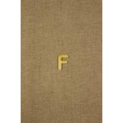 CFB-písmeno F výrobok z dreva 10ks/32mm