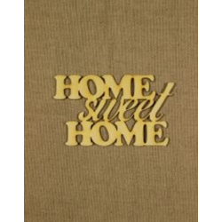 CFB-9291  Home sweet home 13,5x8,5 drevo