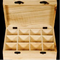 PED-5806  Box na čaj 12 priehradok 26x21x8cm