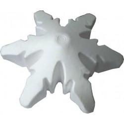 POL-002 Vločka 3D 17,5x9cm  polystyrénová