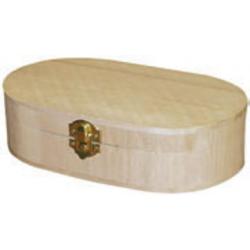 PEN-8113 Oválna škatuľka 20x15x5,2cm