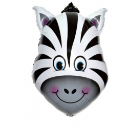 PF-60017 zebra foliový balón 44x64cm