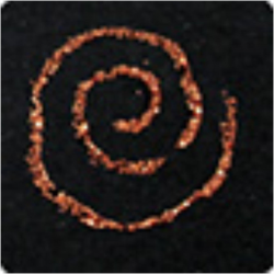 PEN-18690 bronzové glitrové pero 30ml