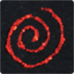 PEN-18691 červené glitrové pero 30ml
