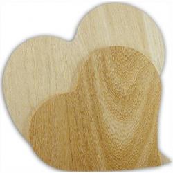 PED-10666 drevená tabuľa srdce29x27cm
