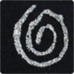 PEN-18686 strieborné glitrové pero 30ml
