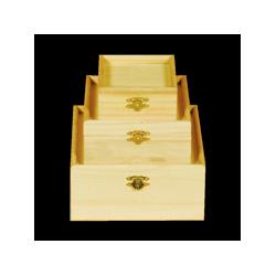 PED-5892  Set boxov 3 kusy 16,5x16,5x8cm