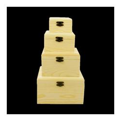 PED-6339  Set boxov 4 kusy 18x14x7,5cm