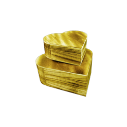 PED-14318 Srdce set boxov 22x19x8cm