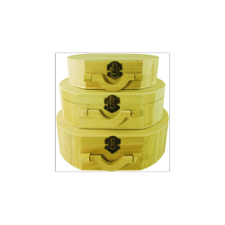 PED-11279  Set boxov s rúčkou 3 kusy 21x16x15cm