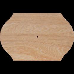 PED-2419 drevená tabuľka-hodiny 25x39 cm