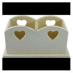 PEN-11256 Srdce držiak na perá 20x10x10cm