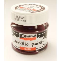 PEN-13113 Baklažán farba akryl matná 50ml