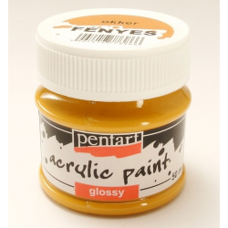 PEN-2050   Farba akryl lesklá okrová 50ml