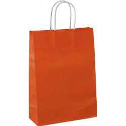 CHTAD Orange/18 papierová taška 180x80x220mm
