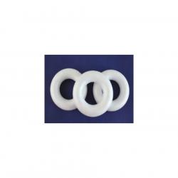 POL-26307 Polovičný  kruh polystyrénový 12,5cm