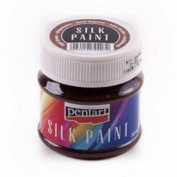 PEN-17773 hnedá farba na hodváb 50ml