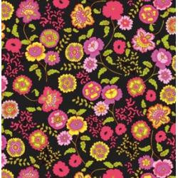TAP-13424 Fleur Black tapeta 45cmx15m