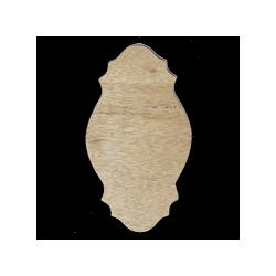 PEN-32886  Drevený výrez 13,5x23,5 cm