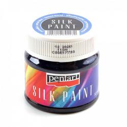 PEN-17793 petrol modrá farba na hodváb 50ml