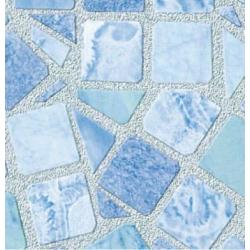 TAP - 10743 Tapeta Mosaic blue 90cm x 15m