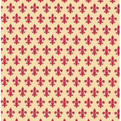 TAP - 11479 Tapeta Lily red 45cm x 15m