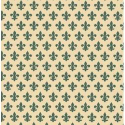 TAP - 12023 Tapeta Lily green 67,5cm x15m