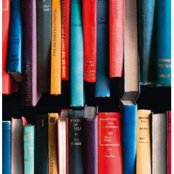 TAP - 11775 Tapeta Book stack 67,5cm x 15m