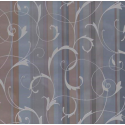 TAP - 11926 Tapeta Scroll overprint blue-grey 90cm x 15m