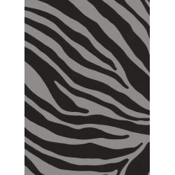 TAP - 12620 Tapeta Zebra grey 45cm x 15m