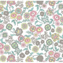 TAP - 13426 Tapeta Fleur white 45cm x 15m
