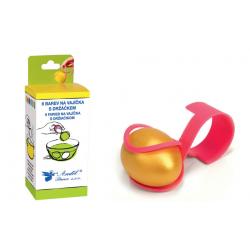 AN-7710  6 farieb na vajíčka s držiakom