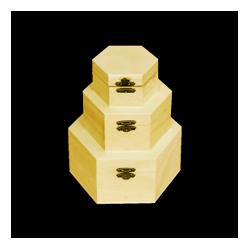 PED-5891  Set boxov 3 kusy 16x16x8cm