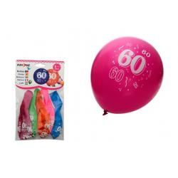 PF-21019 Balón 30cm/5ks číslo 60