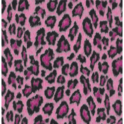 TAP-12636  Tapeta-Leopard pink 45cm
