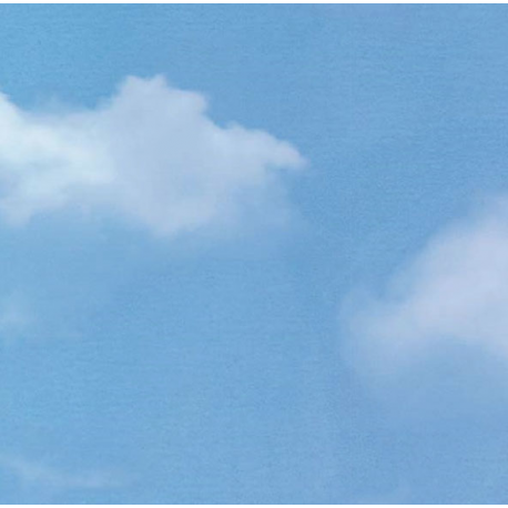 TAP-10527 Vitro Prionted Clouds 67,5cmx15m