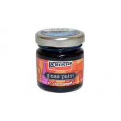 PEN-25118  Farba na sklo rýchlosch. rmodrá 30ml