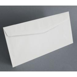 KAS-LA00 Obálka biela 22x11cm 10ks