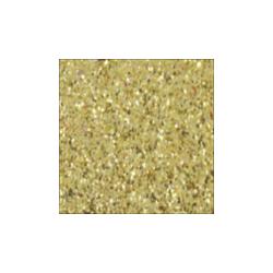 KMG18670  Dekoračná guma sam. glitrová A4 2mm - zl
