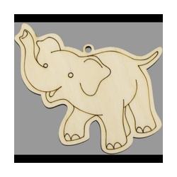 PEN-22771 Drevená figurka slon 5ks